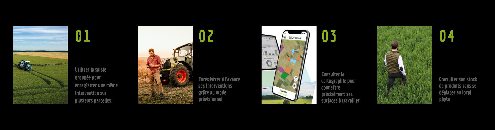 4 astuces pour gagner du temps avec son application Smartphone Geofolia