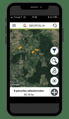 Geofolia cartographie