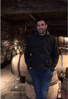 Baptiste Guyot, vigneron à Beaunes
