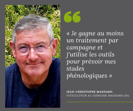 Je gagne un traitement par campagne - Jean-Christophe Mandard pour Isagri