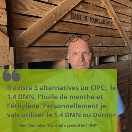 Citation Alain Dequeker CIPC