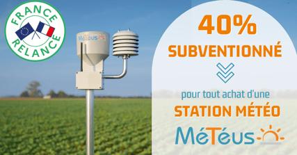 PFR v2 - 40% subventionné sur la station météo Météus