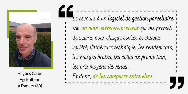 Témoignage article de blog Hugues Caron