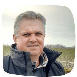 Jérôme Vermersch agriculteur du Nord en conversion HVE