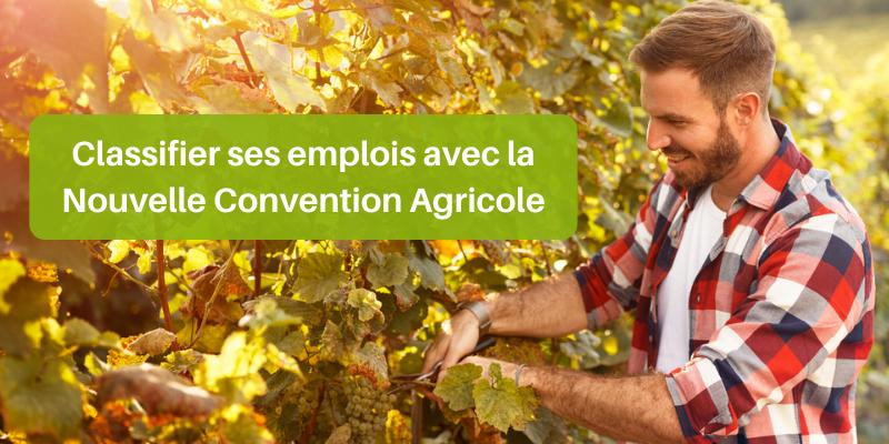 Valoriser vos emplois grâce à la Nouvelle Convention Agricole
