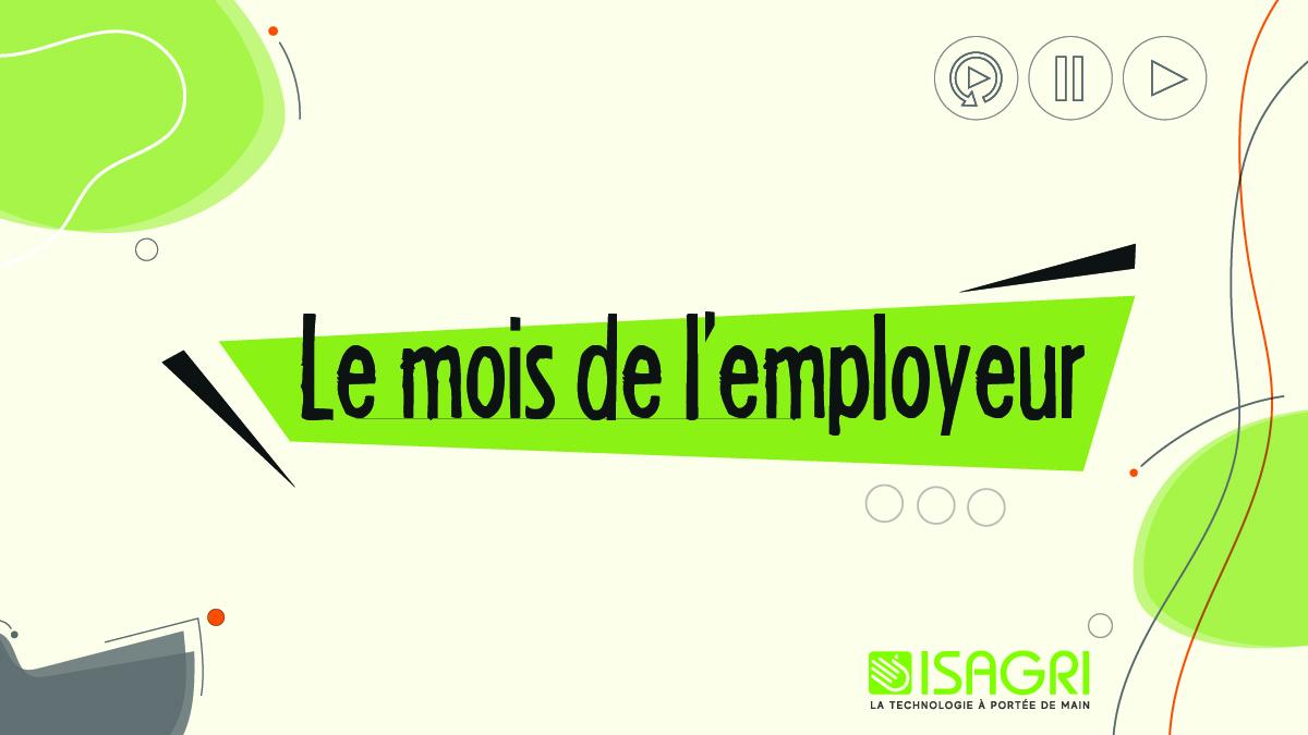 Le mois de l'employeur : 3 webinaires selon 3 thématiques règlementaires