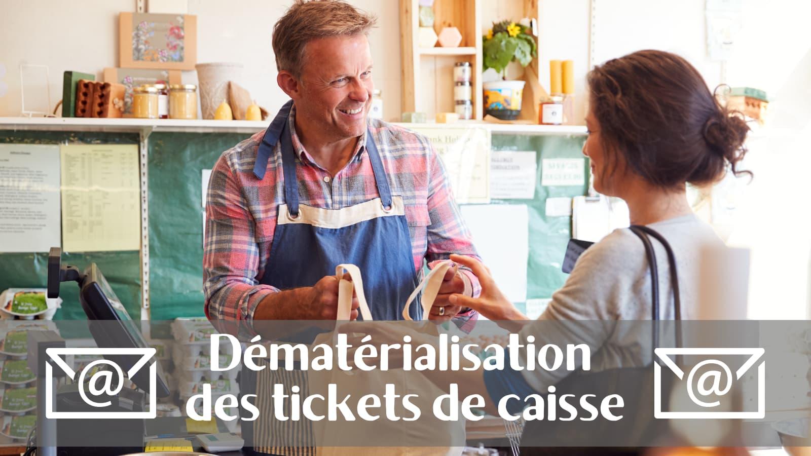 La dématérialisation des tickets de caisse pour développer vos ventes