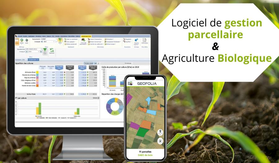 Geofolia logiciel de traçabilité pour le contrôle des productions en agriculture biologique
