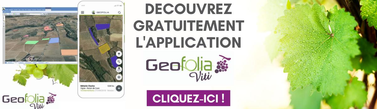 Découvrez gratuitement l'application Geofolia Viti
